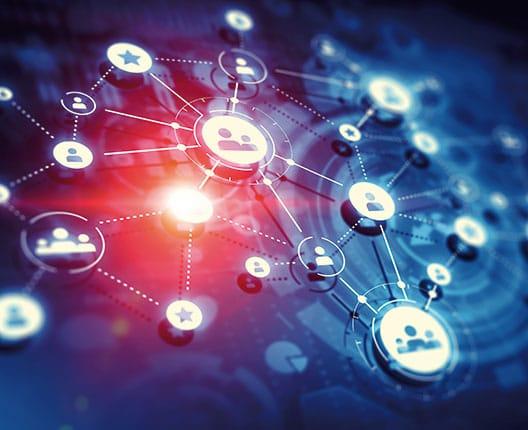 Eine grafische Darstellung eines Netzwerks