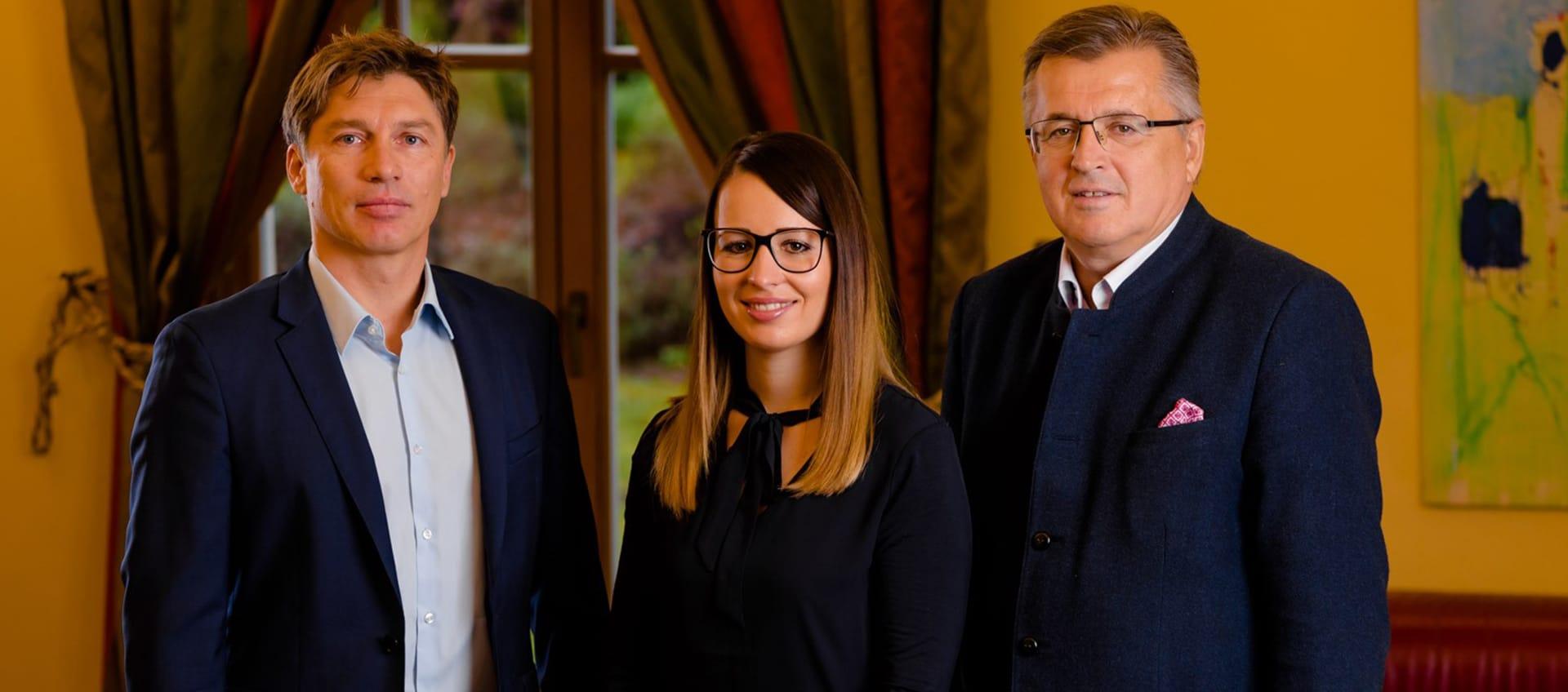 Helmut Mitterfellner, Theresa Grillitsch und Fritz Grillitsch