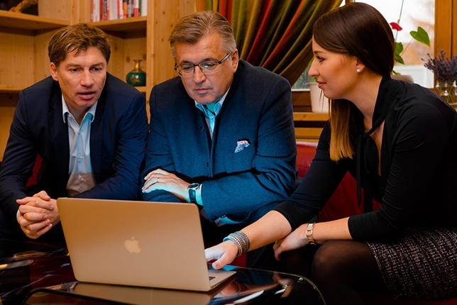 Portrait Team 3ESolution - Helmut MItterfellner, Theresa Grillitsch und Fritz Grillitsch